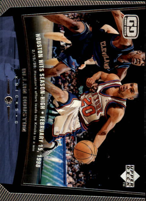 1998-99 Upper Deck #104 Allan Houston
