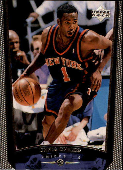 1998-99 Upper Deck #106 Chris Childs