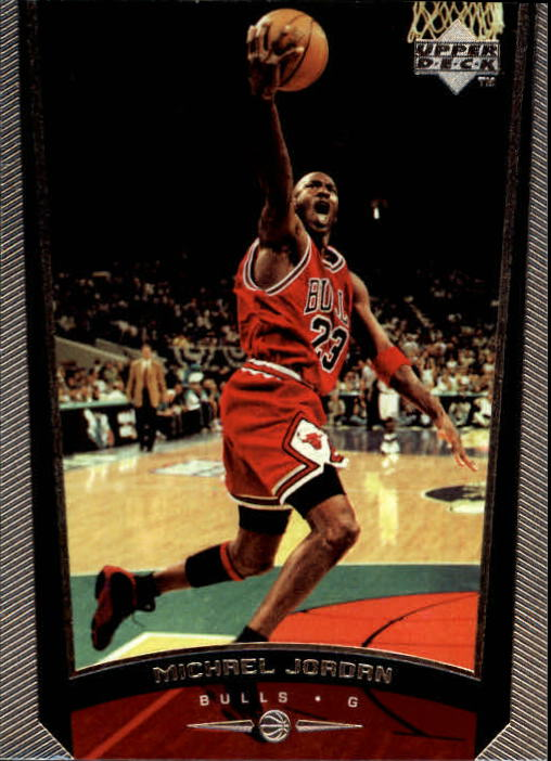 1998-99 Upper Deck #230A Michael Jordan