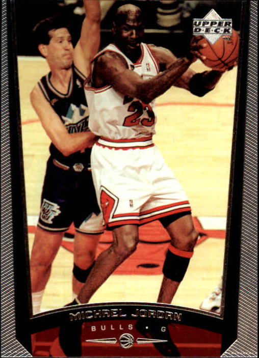 1998-99 Upper Deck #230B Michael Jordan