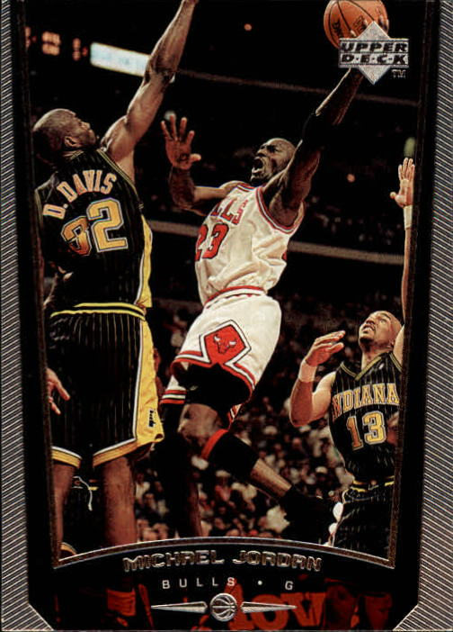 1998-99 Upper Deck #230F Michael Jordan