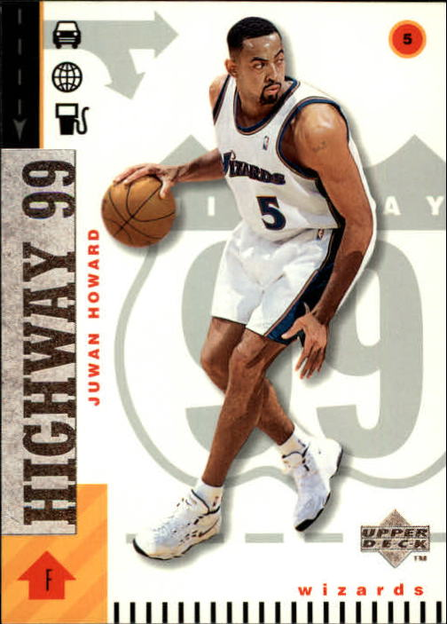 1998-99 Upper Deck #297 Juwan Howard H99