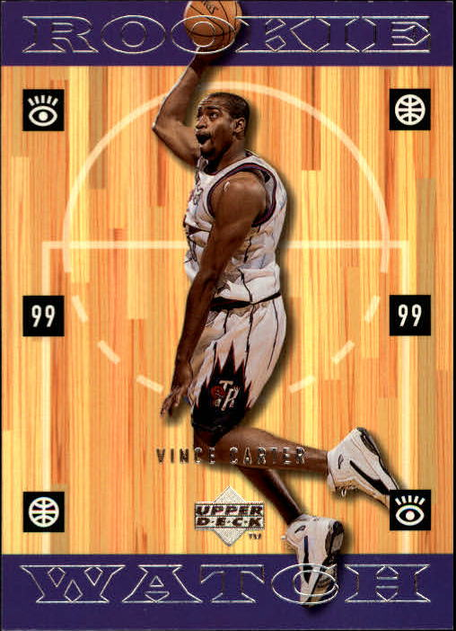 1998-99 Upper Deck #316 Vince Carter RC
