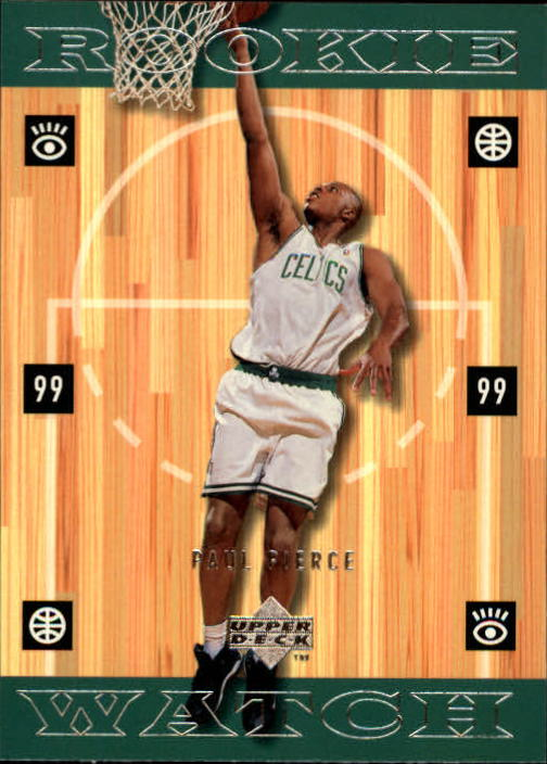 1998-99 Upper Deck #321 Paul Pierce RC