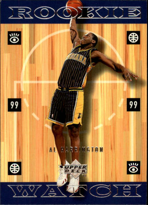 1998-99 Upper Deck #333 Al Harrington RC
