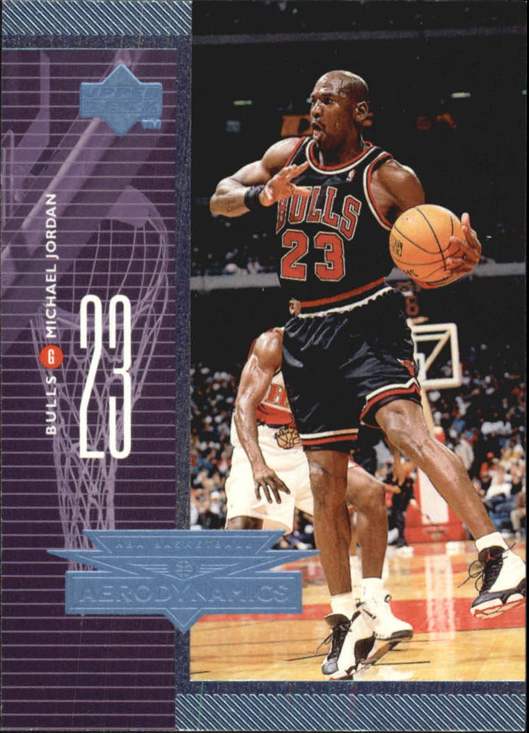 1998-99 Upper Deck AeroDynamics #A1 Michael Jordan