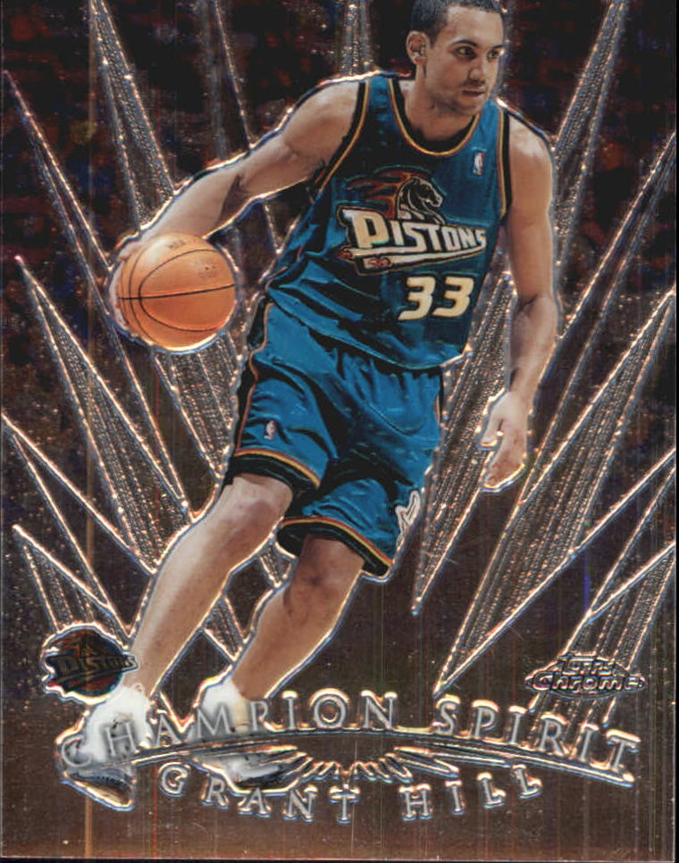 1998-99 Topps Chrome Champion Spirit #CS2 Grant Hill
