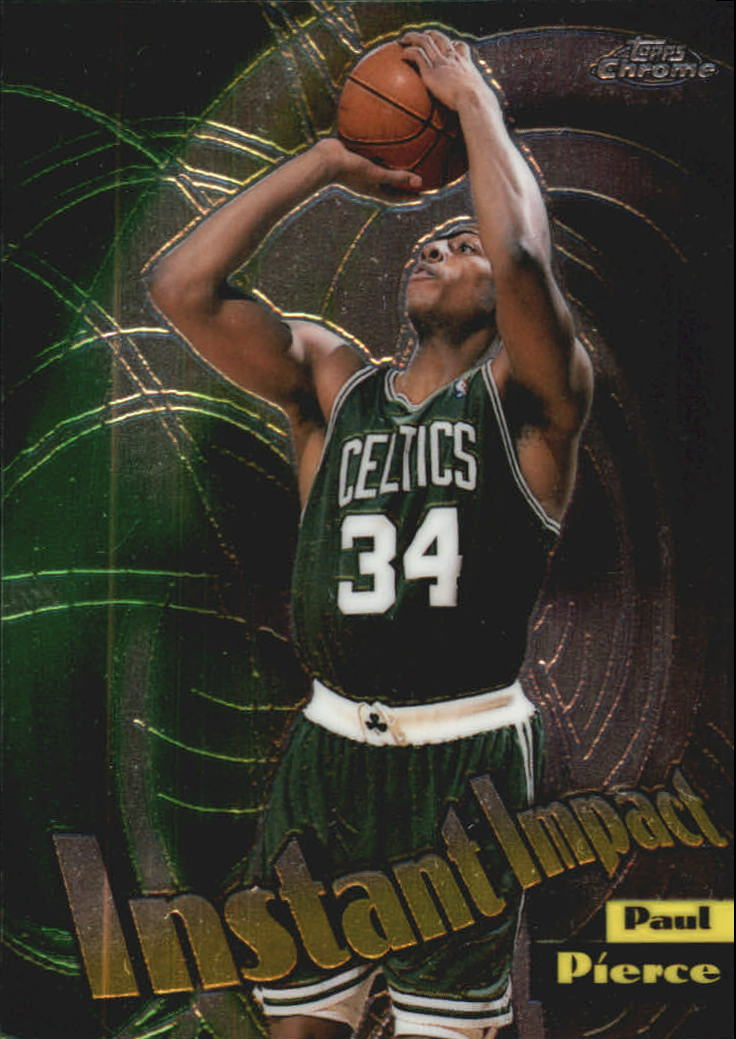 1998-99 Topps Chrome Instant Impact #I10 Paul Pierce front image