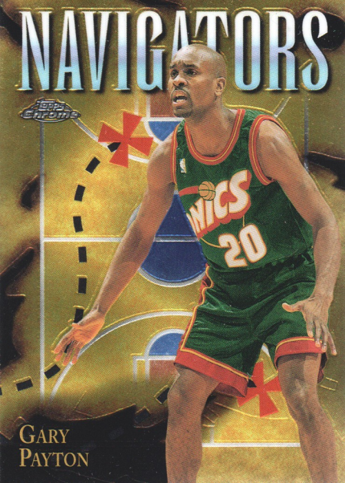 1998-99 Topps Chrome Season's Best #SB2 Gary Payton