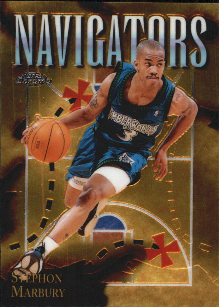 1998-99 Topps Chrome Season's Best #SB4 Stephon Marbury