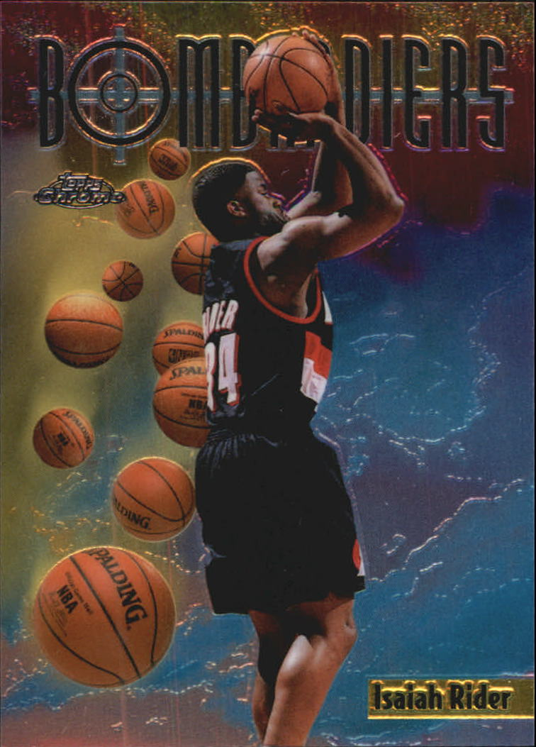 1998-99 Topps Chrome Season's Best #SB10 Isaiah Rider