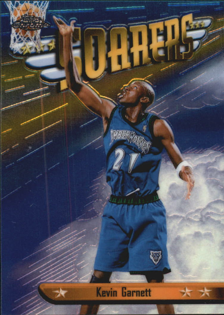 1998-99 Topps Chrome Season's Best #SB12 Kevin Garnett