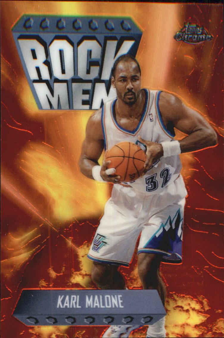 1998-99 Topps Chrome Season's Best #SB16 Karl Malone