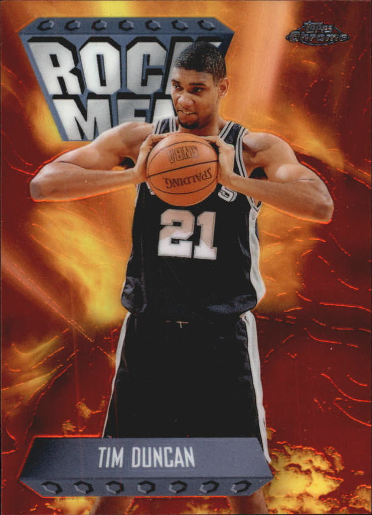 1998-99 Topps Chrome Season's Best #SB17 Tim Duncan