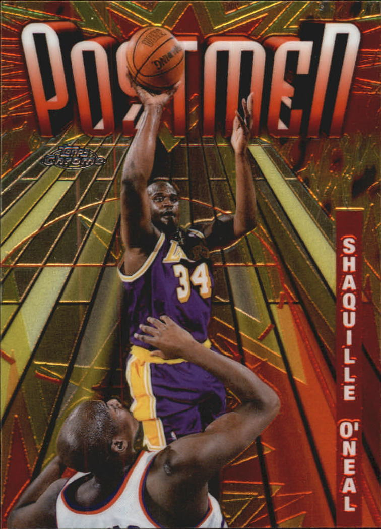 1998-99 Topps Chrome Season's Best #SB21 Shaquille O'Neal