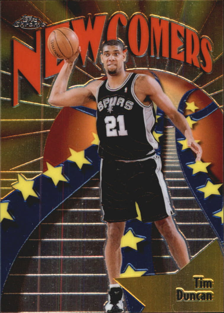 1998-99 Topps Chrome Season's Best #SB26 Tim Duncan