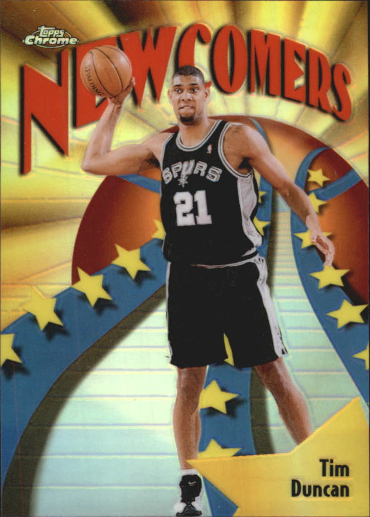 1998-99 Topps Chrome Season's Best Refractors #SB26 Tim Duncan