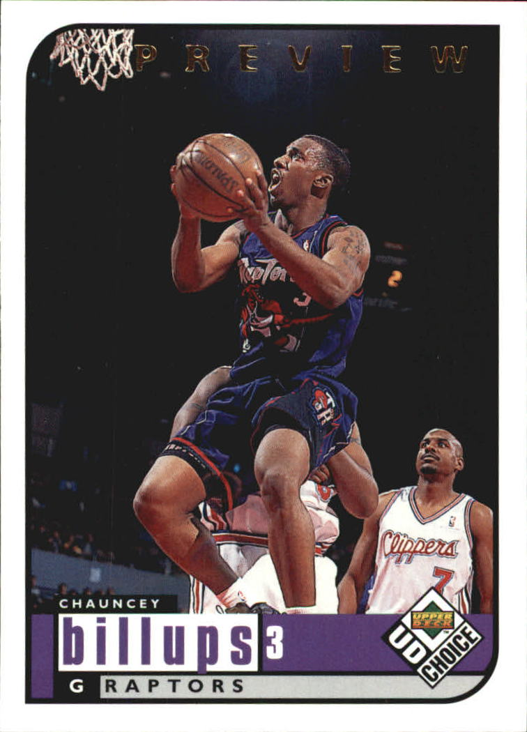 1998-99 UD Choice Preview #137 Chauncey Billups