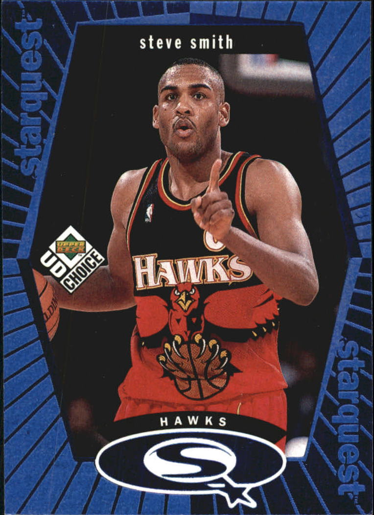 1998-99 UD Choice StarQuest Blue #SQ1 Steve Smith