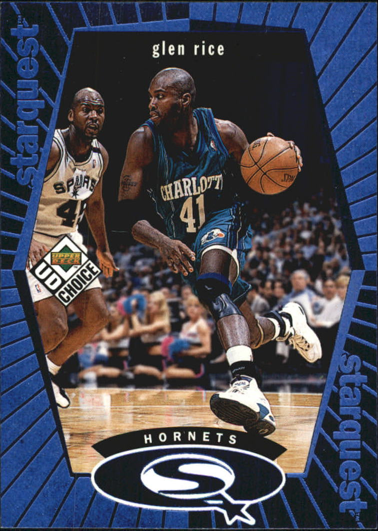1998-99 UD Choice StarQuest Blue #SQ3 Glen Rice