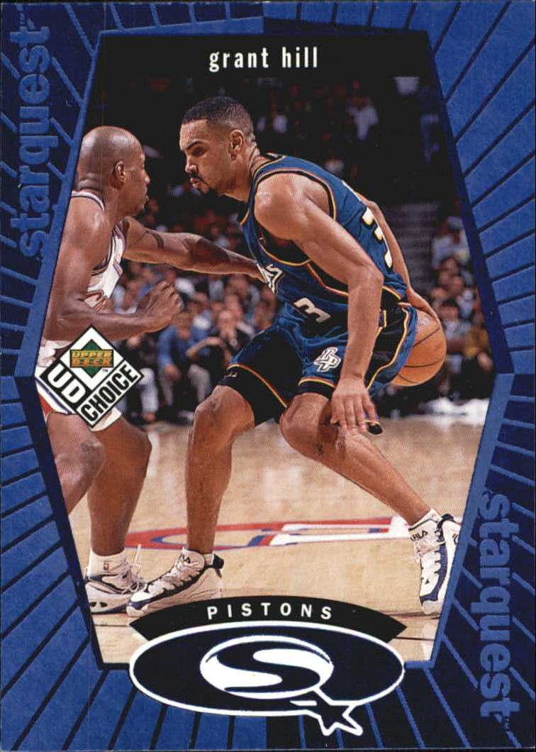 1998-99 UD Choice StarQuest Blue #SQ8 Grant Hill