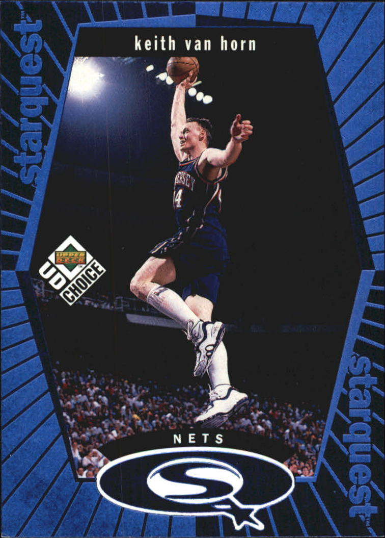 1998-99 UD Choice StarQuest Blue #SQ17 Keith Van Horn