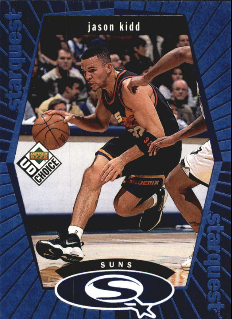 1998-99 UD Choice StarQuest Blue #SQ21 Jason Kidd