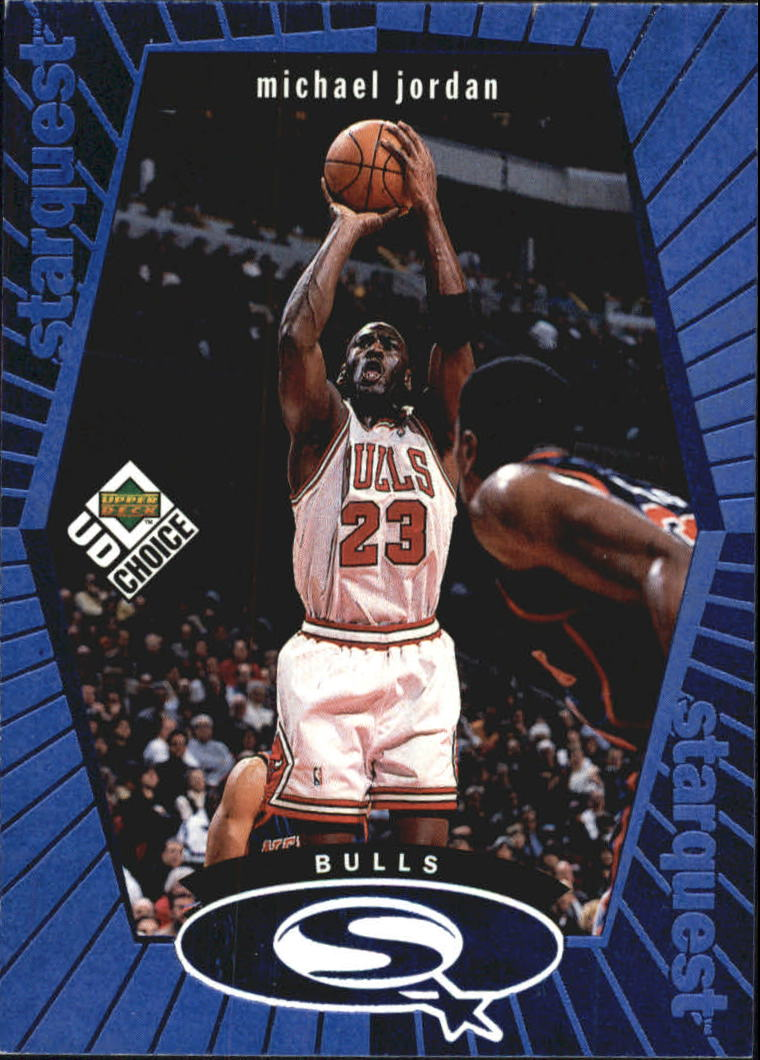 1998-99 UD Choice StarQuest Blue #SQ30 Michael Jordan