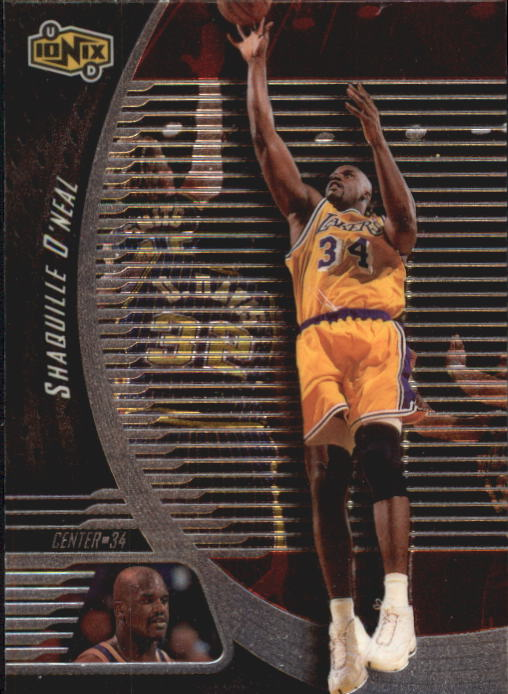 1998-99 UD Ionix #32 Shaquille O'Neal