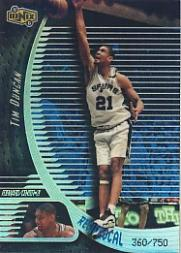 1998-99 UD Ionix Reciprocal #51 Tim Duncan