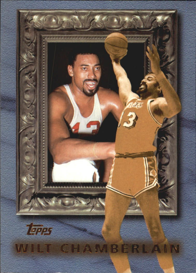 1998-99 Topps Classic Collection #CL6 Wilt Chamberlain