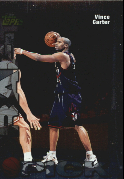 1998-99 Topps Draft Redemption #5 Vince Carter