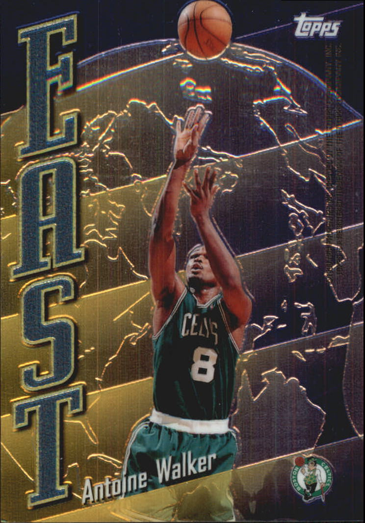 1998-99 Topps East/West #EW1 Antoine Walker/Shareef Abdur-Rahim