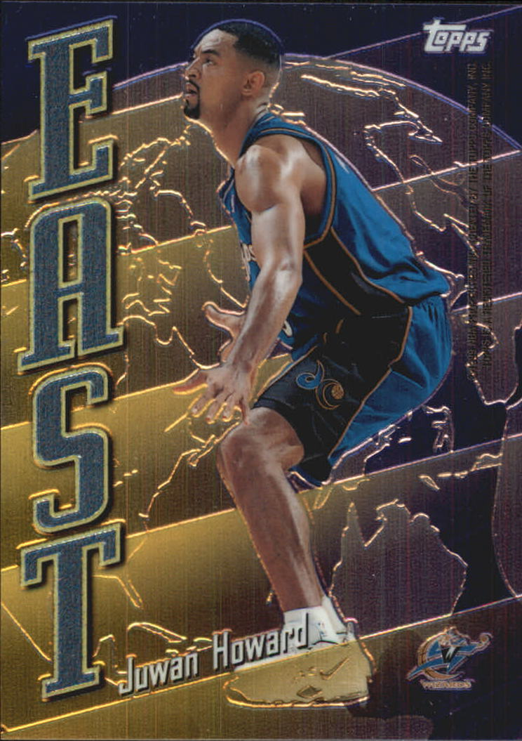 1998-99 Topps East/West #EW11 Juwan Howard/Chris Webber