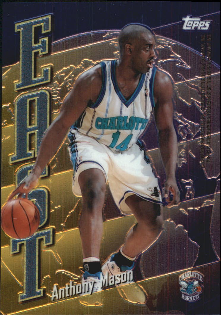 1998-99 Topps East/West #EW14 Anthony Mason/Tom Gugliotta