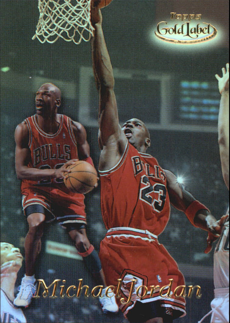 1998-99 Topps Gold Label #GL1 Michael Jordan