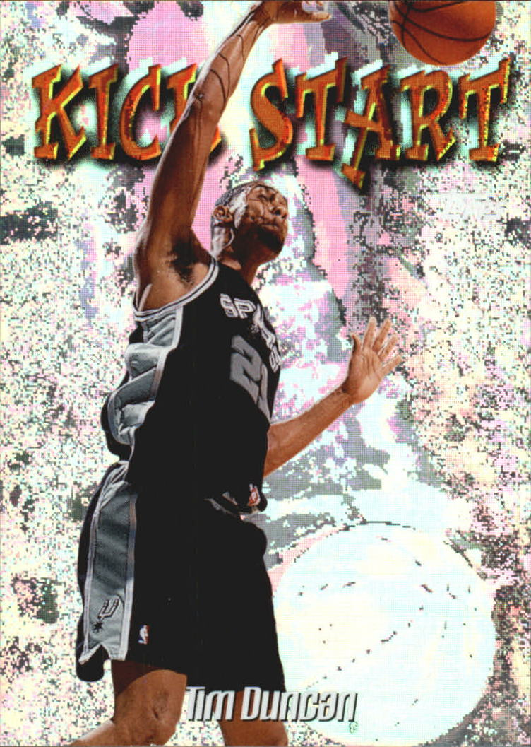1998-99 Topps Kick Start #KS1 Tim Duncan