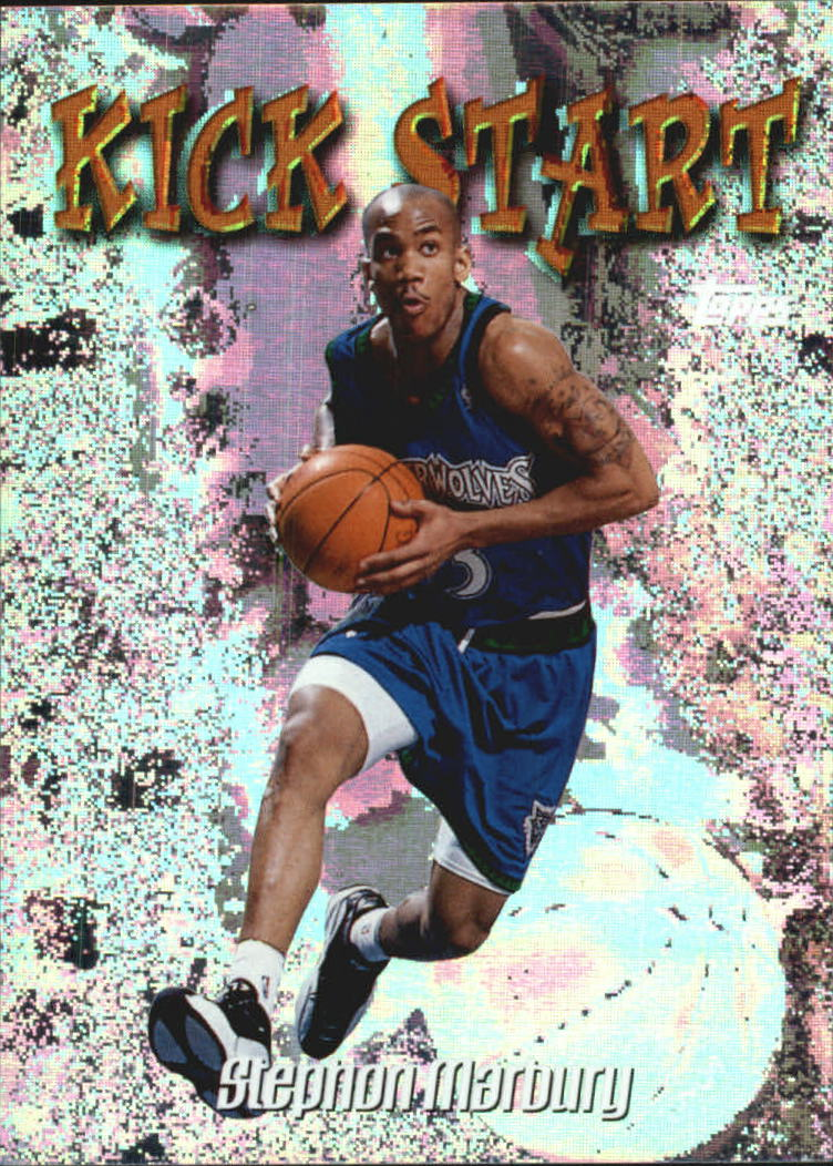 1998-99 Topps Kick Start #KS4 Stephon Marbury front image