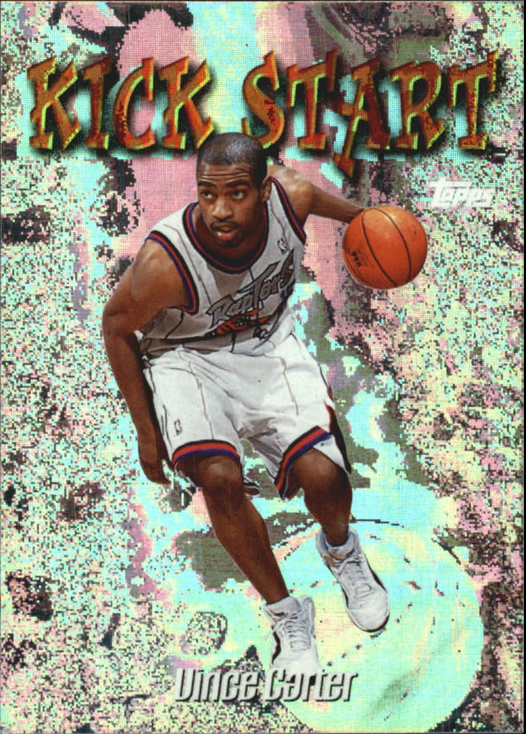 1998-99 Topps Kick Start #KS9 Vince Carter