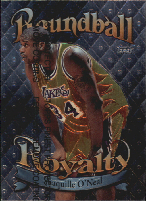 1998-99 Topps Roundball Royalty #R9 Shaquille O'Neal