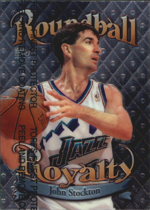 1998-99 Topps Roundball Royalty #R11 John Stockton