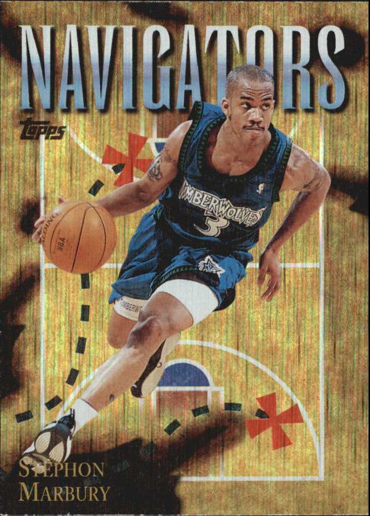 1998-99 Topps Season's Best #SB4 Stephon Marbury