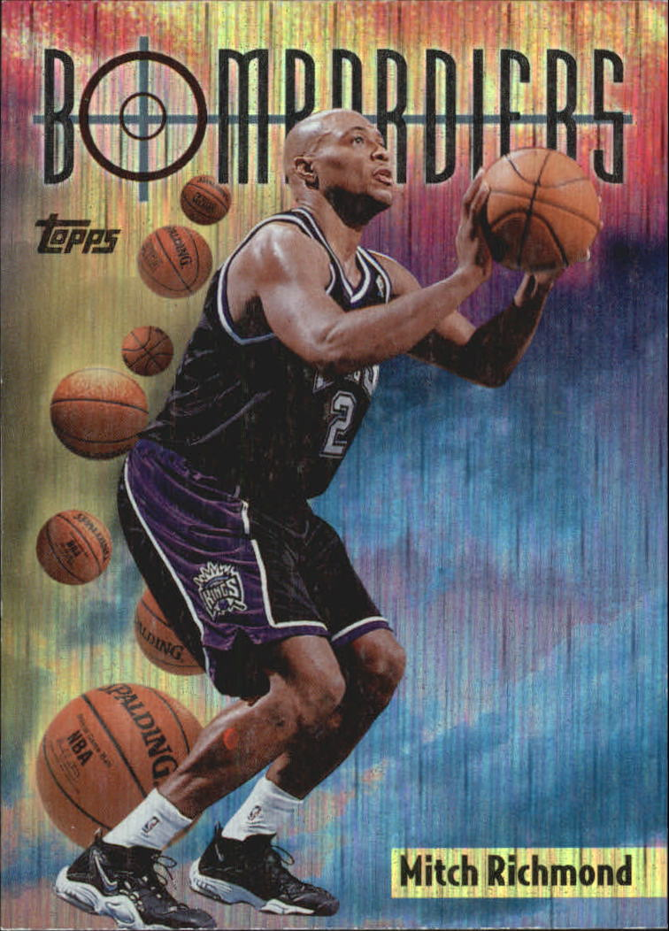 1998-99 Topps Season's Best #SB7 Mitch Richmond