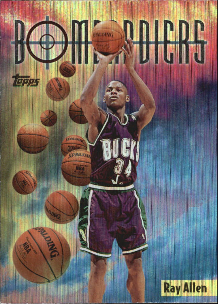 1998-99 Topps Season's Best #SB9 Ray Allen