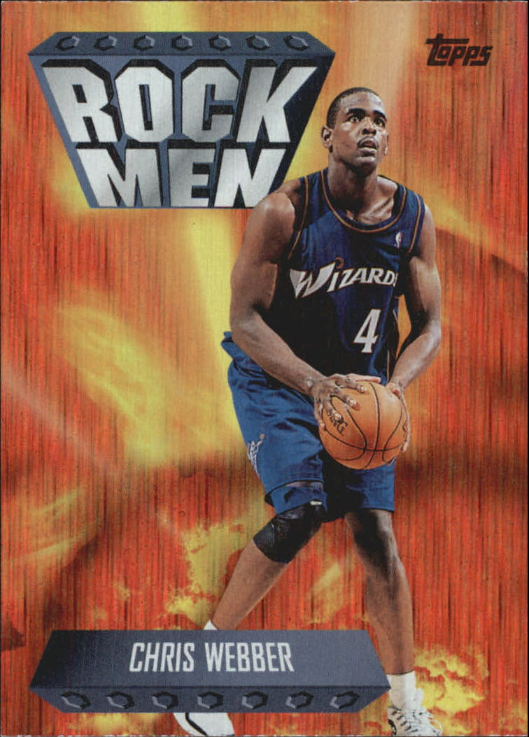1998-99 Topps Season's Best #SB19 Chris Webber