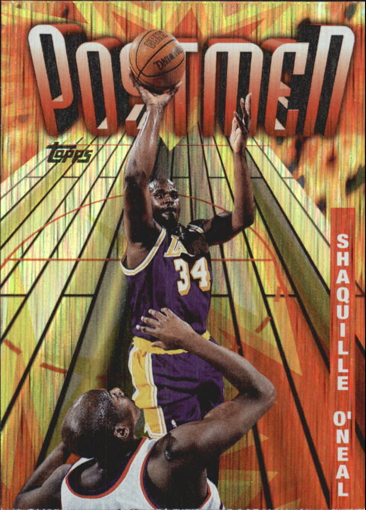 1998-99 Topps Season's Best #SB21 Shaquille O'Neal