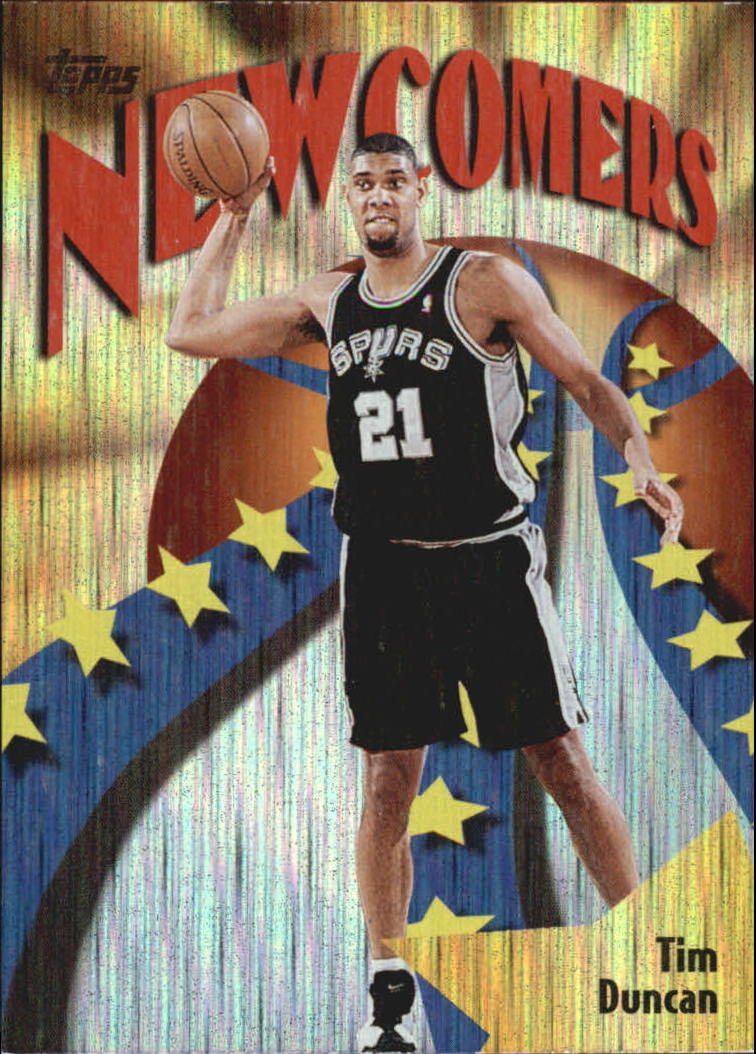 1998-99 Topps Season's Best #SB26 Tim Duncan