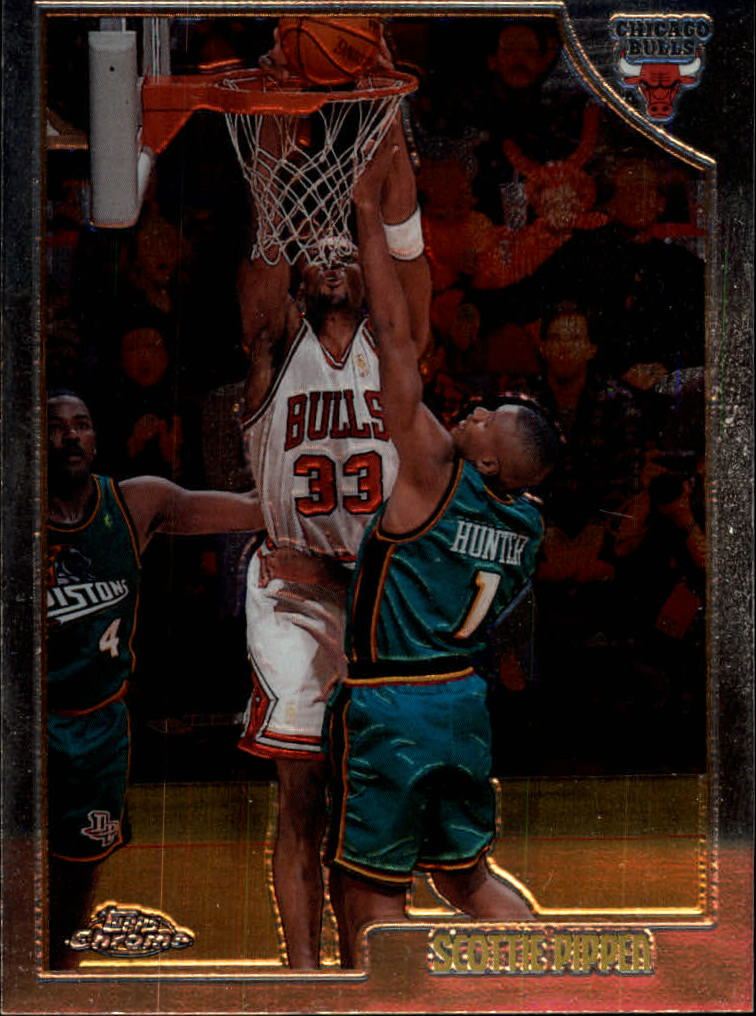1998-99 Topps Chrome #1 Scottie Pippen