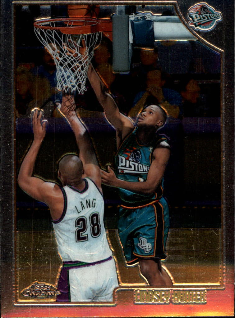 1998-99 Topps Chrome #8 Lindsey Hunter