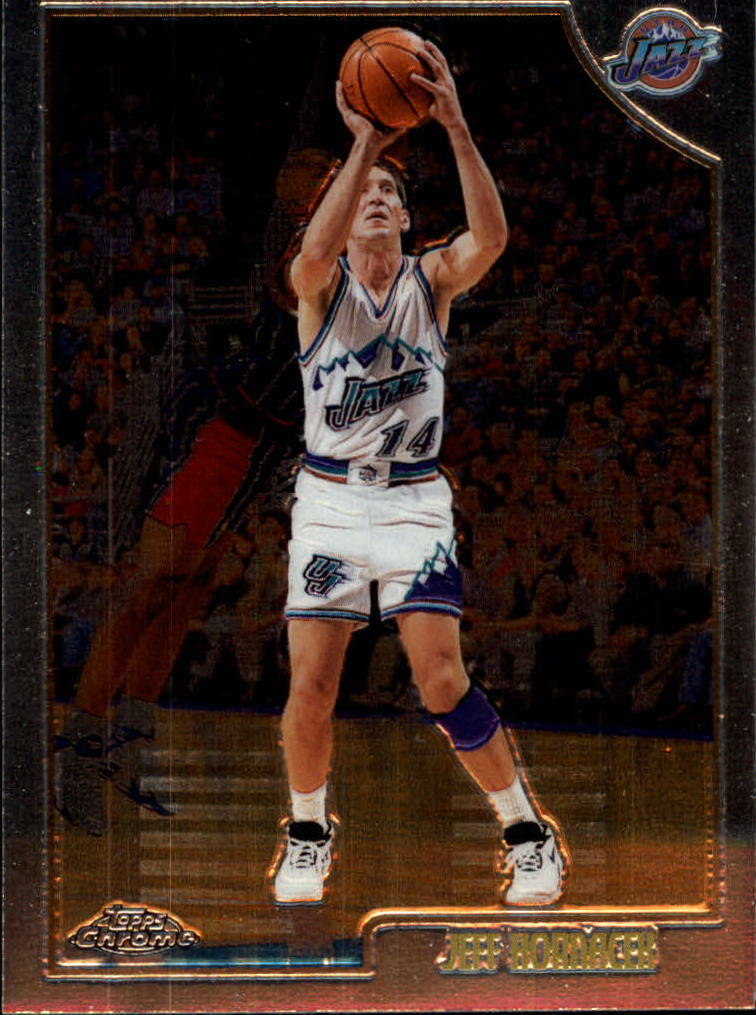 1998-99 Topps Chrome #12 Jeff Hornacek